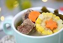 宝宝辅食食谱  玉米海带排骨汤的做法