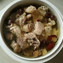 红枣鸡肉汤