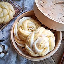 南瓜全麦花卷#憋在家里吃什么#