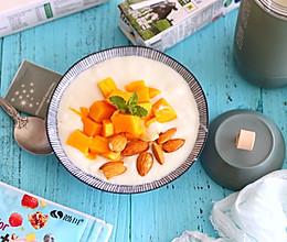 芒果酸奶捞的做法