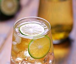 夏日清新补充维C之「青柠绿茶」提神解乏的做法