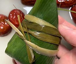 红枣粽子纯手工制作的做法