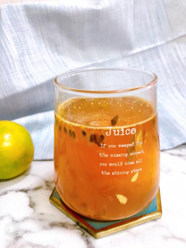 来杯暖暖的冬日饮品—百香果茶