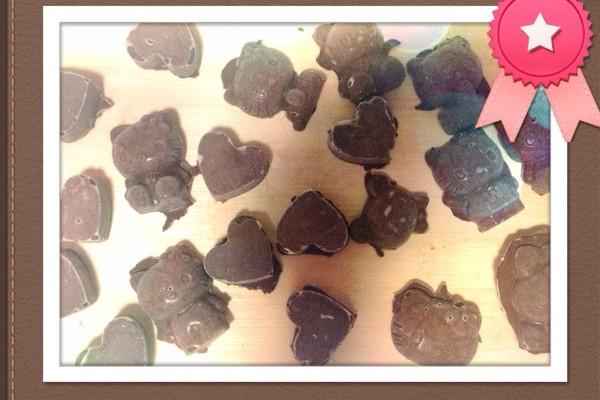 没有可可粉的松露巧克力的做法