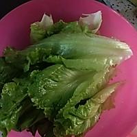 猪肝猪肉生菜粥的做法图解3