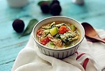 里脊肉蔬菜全麦疙瘩汤——不一样的疙瘩汤的做法