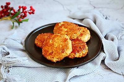 #童年不同样,美食有花样# 鸡肉豆腐堡