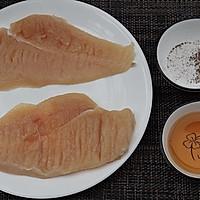 #安佳马苏里拉芝士挑战赛#炸鸡排:十步完成,酥脆流汁~的做法图解1