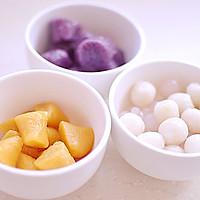 全手工芋圆红豆汤 的做法图解7