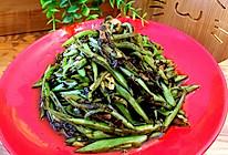 榄菜四季豆的做法