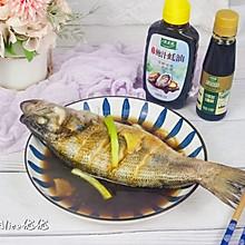 #做饭吧!亲爱的#蒸烤箱版~清蒸鲈鱼