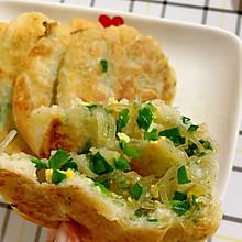 凉了也不硬的韭菜饼超级好吃