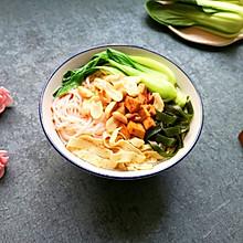 鸡汤米线#快手又营养,我家的冬日必备菜品#