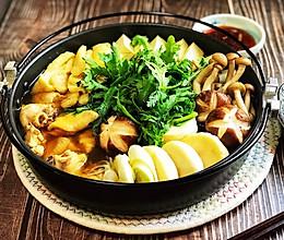 #餐桌上的春日限定#日式酱油鸡肉火锅配自制柑橘酱油(附高汤)的做法