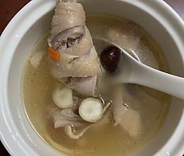 鲜人参鸡汤的做法