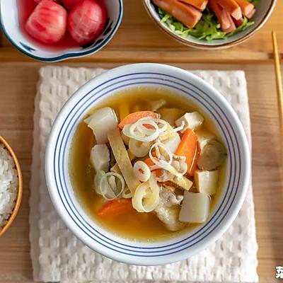 豬肉味噌湯|治愈落胃