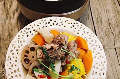 杂蔬龙骨汤