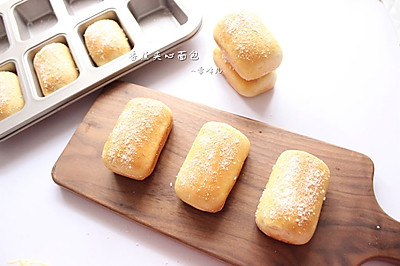香蕉夹心面包