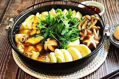 日式酱油鸡肉火锅配自制柑橘酱油(附高汤)