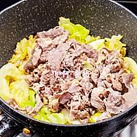 #助力高考营养餐#圆白菜炒肥牛卷的做法图解9