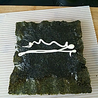 上班族的活力营养午餐 反卷寿司·加州卷·的做法图解4
