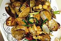 辣炒花蛤/黄蚬子的做法