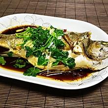 清蒸鲈鱼 (自制蒸鱼豉油)