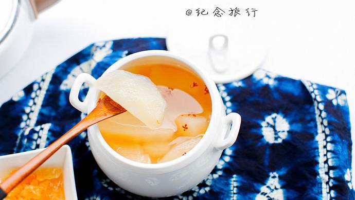 桂花雪梨汤