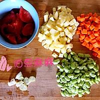 营养早餐粥-宝宝蔬菜米粥的做法图解1