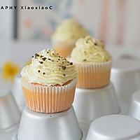 """#在""""家""""打造ins风美食#淡奶油纸杯蛋糕"""