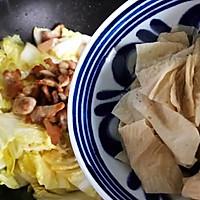 #肉食者联盟#白菜腐皮炖五花肉的做法图解18