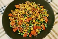 秀色可餐『五彩豌豆小炒』的做法