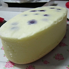 蓝莓轻乳酪蛋糕,轻松制作好味道