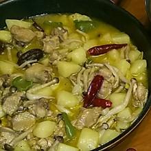鸡翅炖土豆
