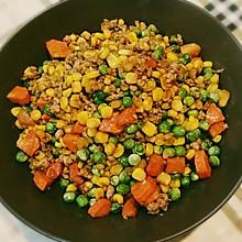 秀色可餐『五彩豌豆小炒』