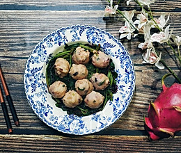 马齿苋滚章鱼丸汤#父亲节,给老爸做道菜#的做法