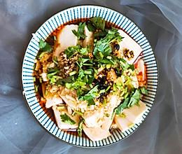 #憋在家里吃什么#5分钟轻松搞定的凉拌内酯豆腐 好吃的添盘的做法