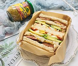醋粒芥末三明治的做法