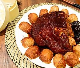 山西名菜-虎皮肘子(元宝肘子)软嫩咸香的做法
