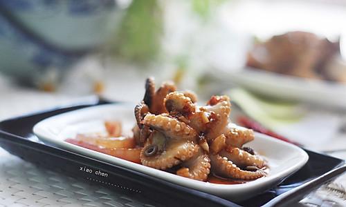 酱拌八爪鱼————米饭杀手的做法