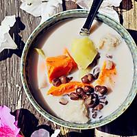 秋季甜蜜滋补甜汤~红豆芋头甜薯汤的做法图解7