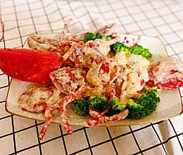 芝士焗波士顿龙虾,好吃停不下的做法