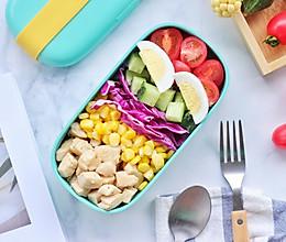 彩虹沙拉便当的做法