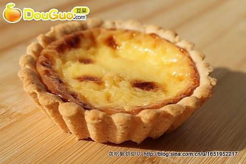 香软酥糯的美味派皮蛋挞(入门级)的做法