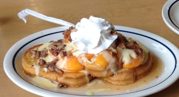 Peaches Cream Toast