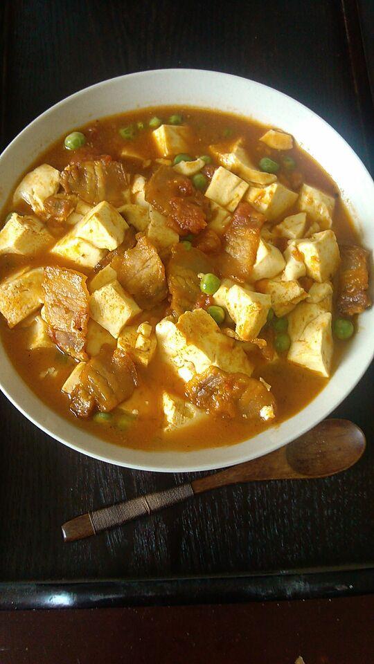 番茄小豆腐