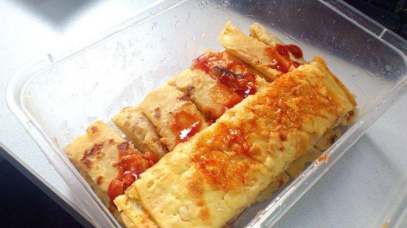 鱼菲泡菜饼