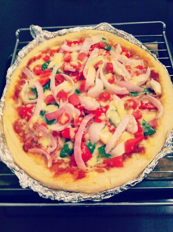 第一个披萨