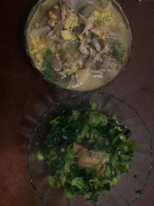 炒青菜的做法
