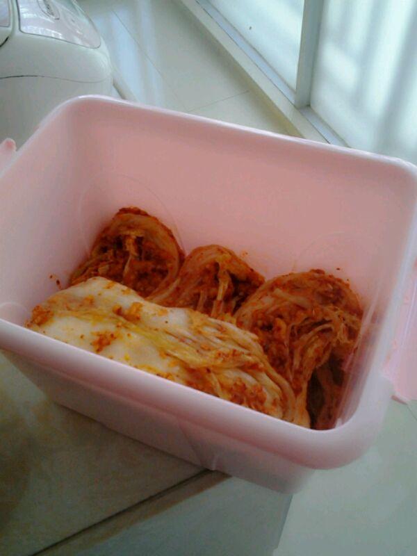正宗韩式料理:韩国辣白菜的做法